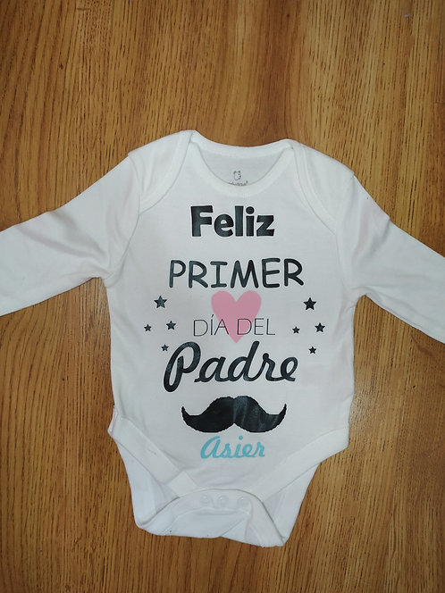 """Camiseta & body """"BIGOTE PAPA"""""""