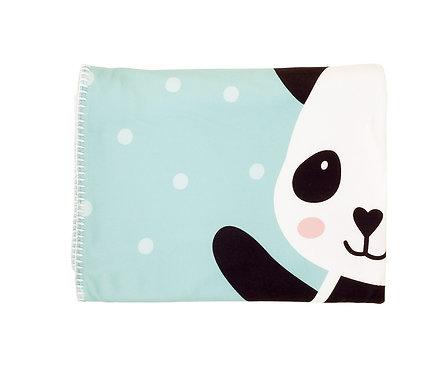 Manta polar personalizada Panda