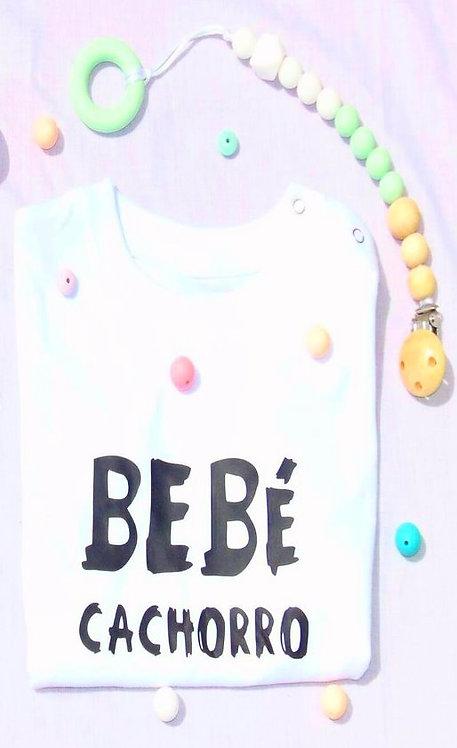 Camiseta Bebé Cachorro