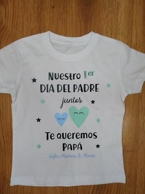 "Camiseta & body ""PRIMER CORAZONES"""