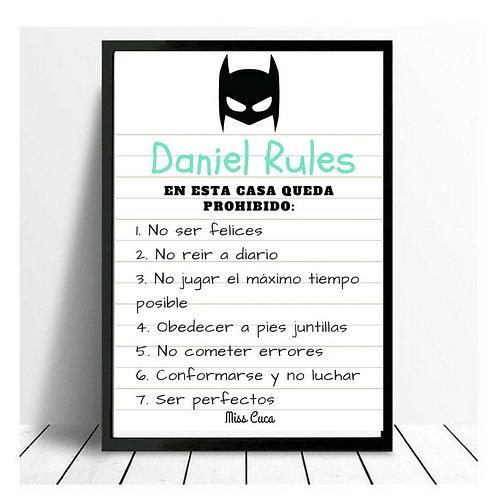 Lamina Rules