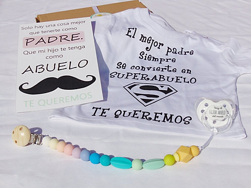 "Pack ""SUPERABUELO""multicolor"