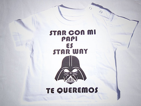"Camiseta ""STAR WAY"""