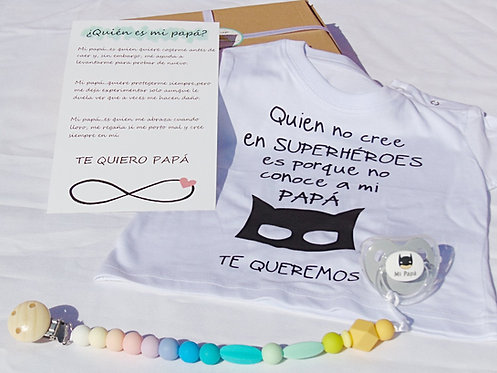 "Pack ""MI SUPERHEROE"" multicolor"
