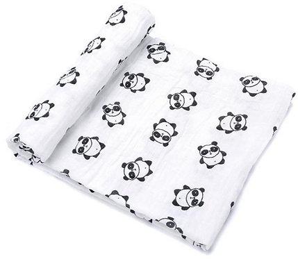 Muselina 100% algodón Panda