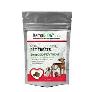 Hempology calming dog treats