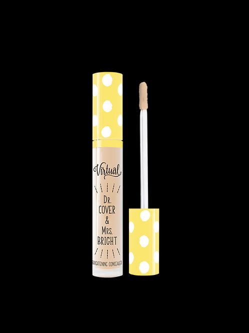 DR. COVER & MRS. BRIGHT BRIGHTENING CONCEALER VIRTUAL