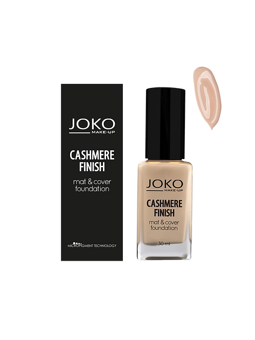 CASHMERE FINISH MAT & COVER FOUNDATION