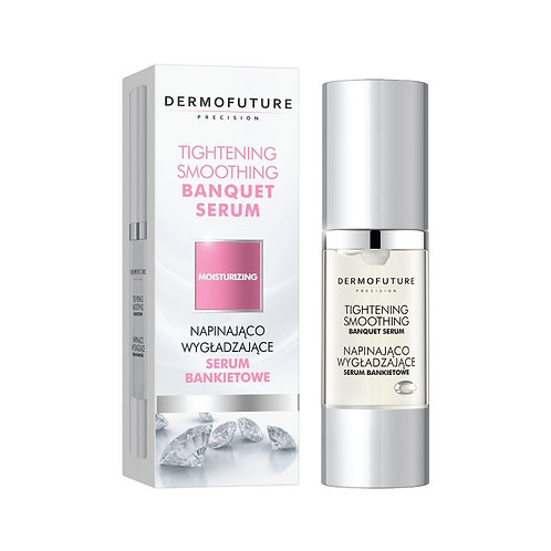 Tightening and smoothing banquet serum, body creams