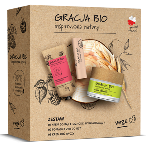 GRACJA BIO, gift box the natural products for skin