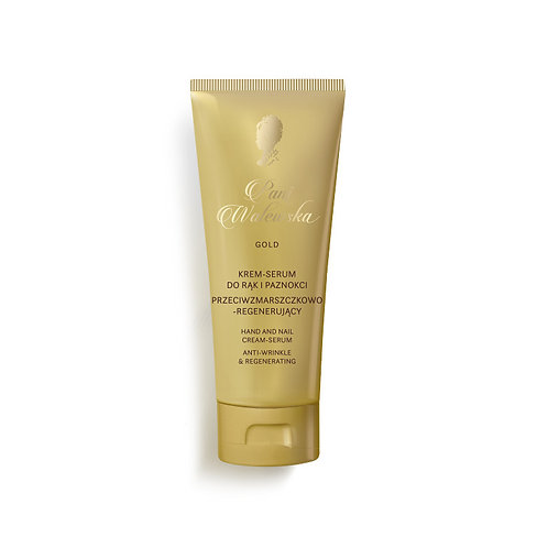 PANI WALEWSKA GOLD HAND AND NAIL CREAM-SERUM