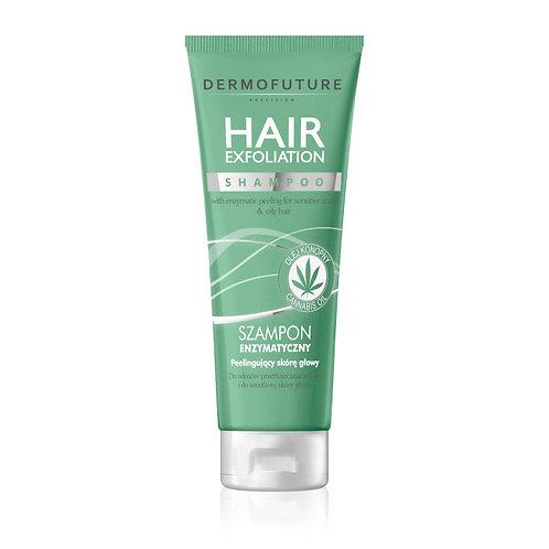 Hair Exfoliation Shampoo with canabis oil, 200 ml