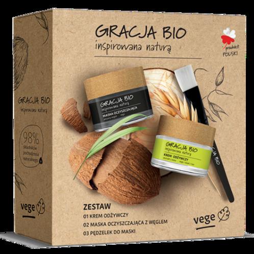 Gift box GRACJA BIO, 1 purifying mask