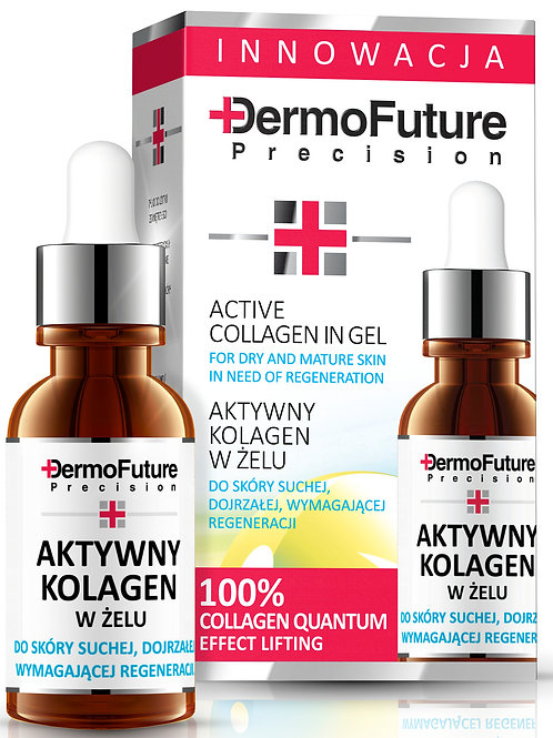 Active collagen gel for dry, mature skin in need of regeneration