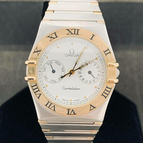 Omega Constellation Day-Date Gold/Steel Mint