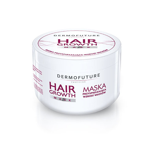 Hair mask with plant complex anti-hair loss.