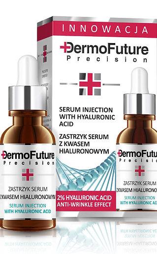 DermoFuture, injectie van serum met hyaluronzuur, 20 ml