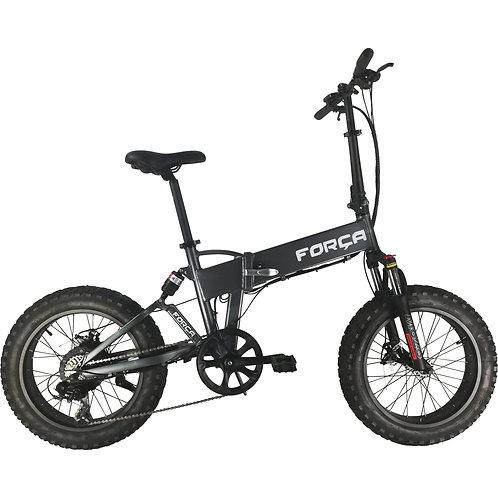 "FORÇA E-Bike FOLIBIKE-""X"" 20"" Faltfahrrad Crossbike 750Watt 48V - Grey"