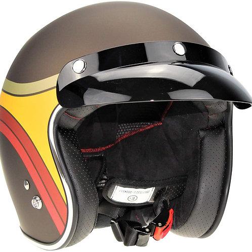 VIPER RS-05 MOTO Vintage Scooter Helm, Größe XL (61-62 cm)