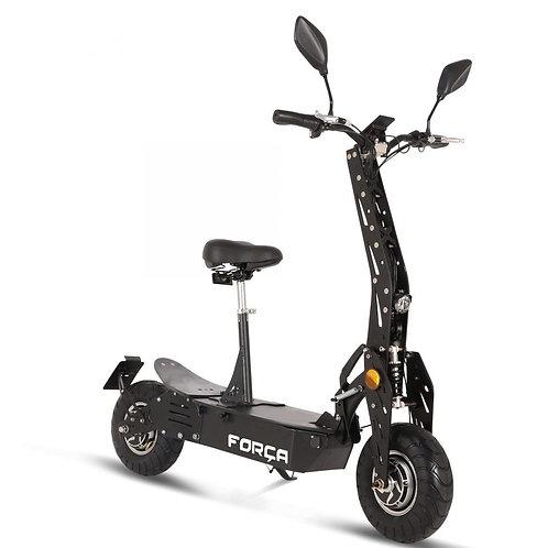 FORÇA Evoking IV Elektro-Scooter mit 15AH LithiumAkku 45km/h Topspeed in Schwarz