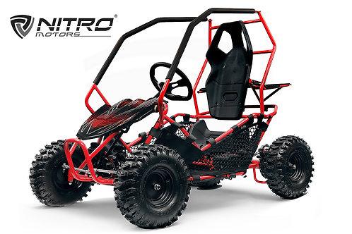 Nitro Motors Eco Gokart CROSSER 1000W 36V 2-Stufen Drossel Kinderbuggy
