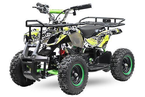 Nitro Motors Torino Eco Graffiti Version mini Quad 1000W 48V 6 Zoll Kinderquad