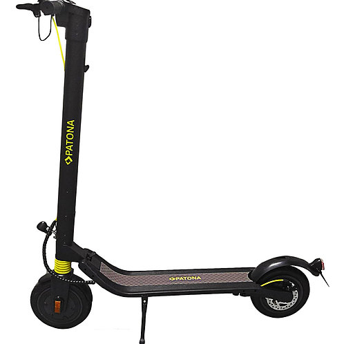 PATONA E-Scooter PT12-1 StVZO konform austauschbarer Akku eScooter 8,5 Zoll