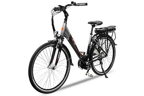 E-GO! Elektrofahrrad 250W Pedelec E-Bike Acera 10Ah 28 Zoll 8-Gang Shimano Altus