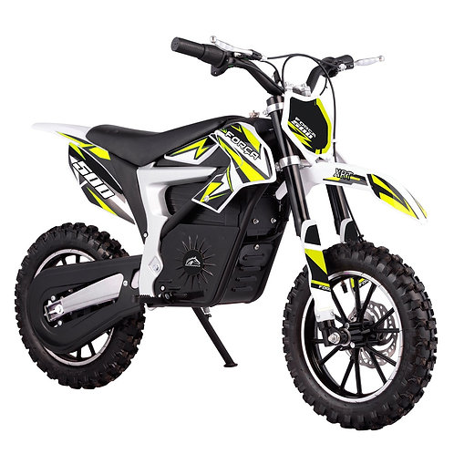 FORÇA XRT-500/36 Elektro-Dirtbike in Gelb mit LithiumAkku