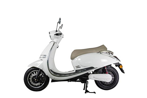 Kito 4000 - eScooter mit 75 km/h anthrazit + PATONA PT-12-1 20 km/h gratis