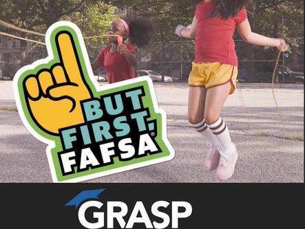 But First, FAFSA