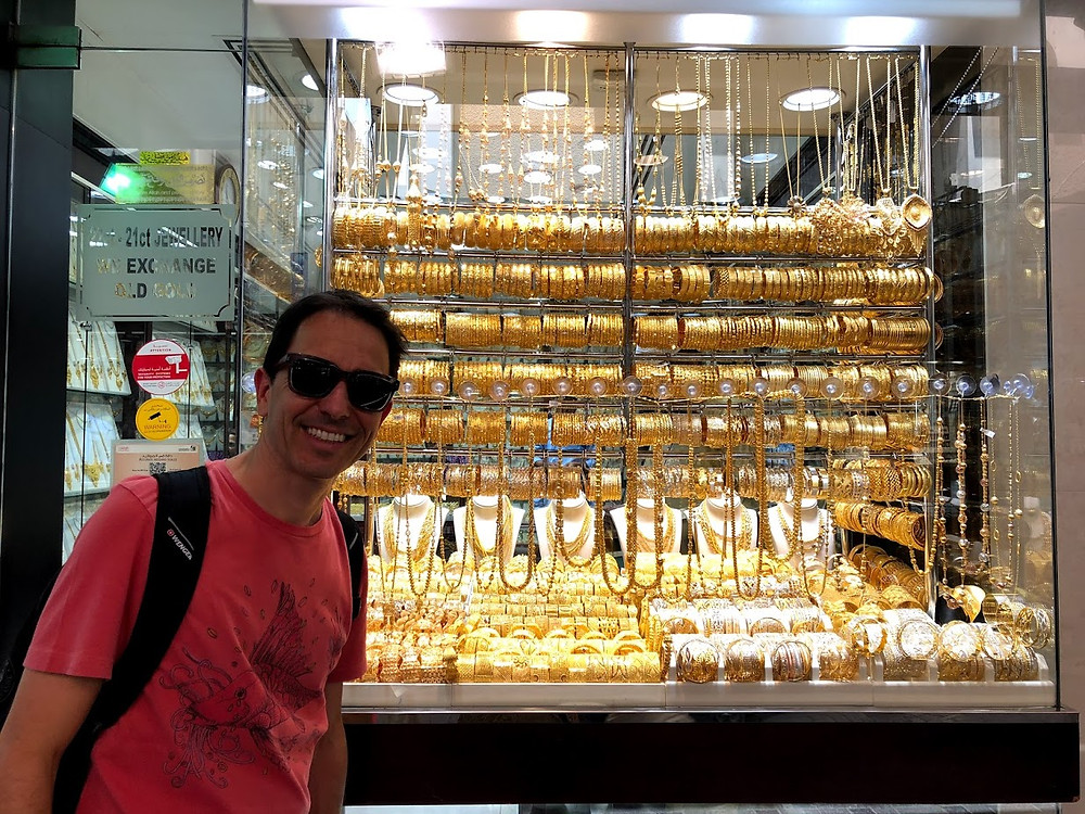 Gold Souk o mercado do ouro
