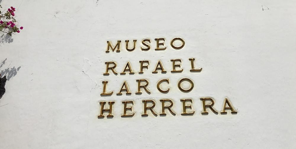 Museu do Larco em Lima, Peru