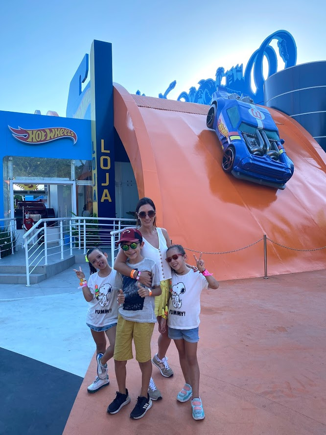 Hot Wheels no Beto Carrero World