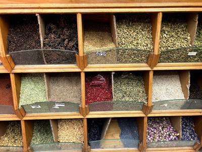 Spice Souk o mercado de especiarias