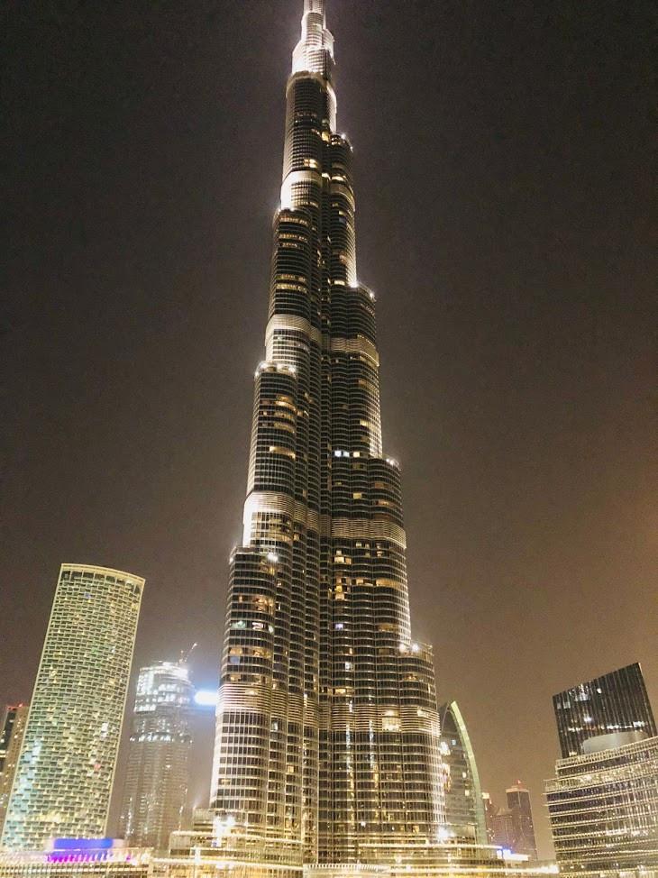 Burj Khalifa o maior prédio do mundo em Dubai
