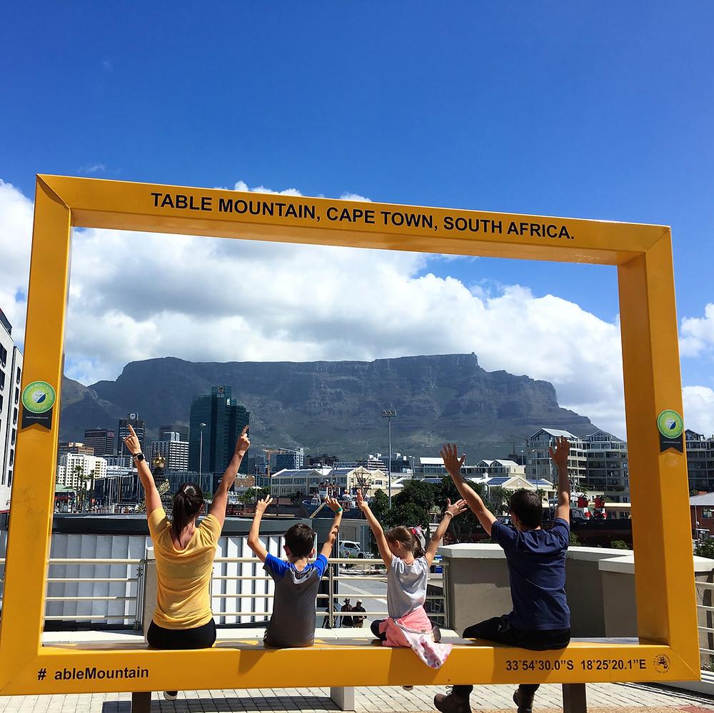 Tabel Montain na Cidade do Cabo