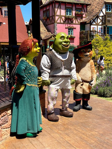 Personagens de Sherek no Beto Carrero World