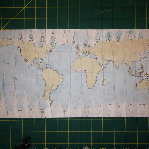 Colour the continents