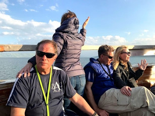 Worship and devotions on the Sea of Galilee