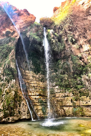 David's Waterfall in En Gedi
