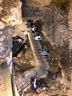 Down, down, down into Megiddo we go