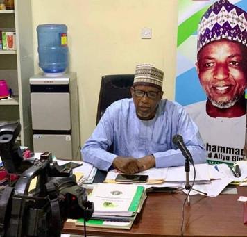 Senator Kwari congratulates new ALGON NATIONAL PRESIDENT