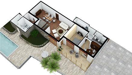 Apartment #3 in Villa Eureka