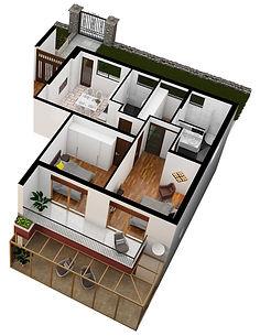 Apartment #2 in Villa Eureka