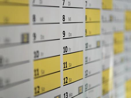 周年イベントのスケジュール変更は必至♠︎