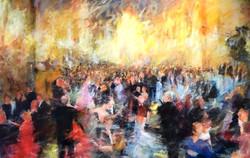 Dans på Nobelfesten 1