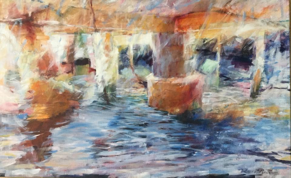 Färger under sjöbod