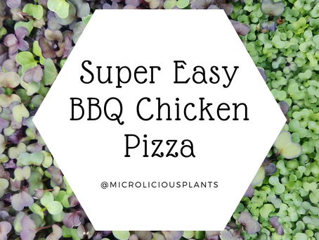 BBQ Chicken Personal Pizza - Easy & Gluten Free