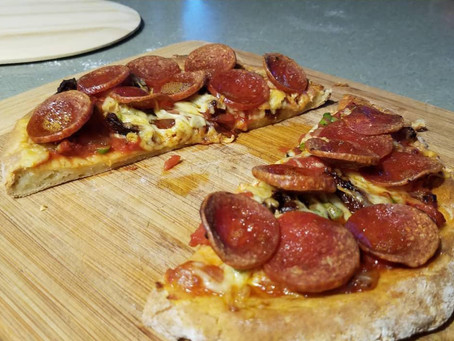 Thin Crust Gluten Free Pizza
